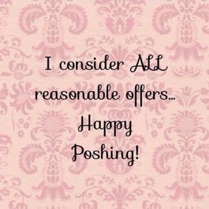 I accept all reasonable offers! ❤️❤️❤️